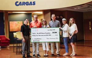 Thanks to Cargas for their donation to the Jeff Musser Foundation
