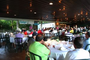 Jeff Musser speaks at the 2017 Golf Classic