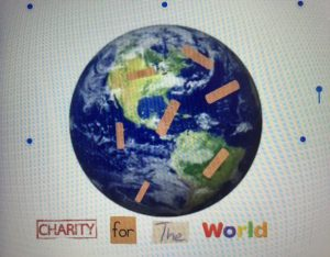 Charity for the World was started by Estelle Clark and Evie Barr