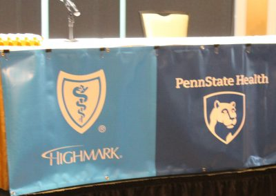 Cadillac Dinner Sponsors Highmark and Penn State Health